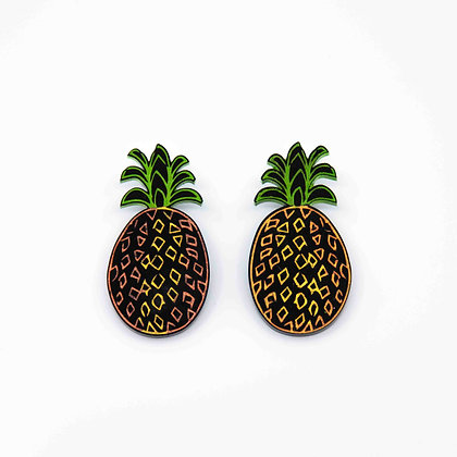 Pineapple Studs Earrings
