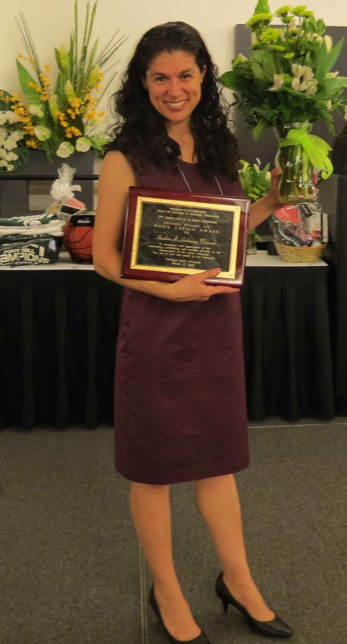 Michigan State Univ. Zavala Award