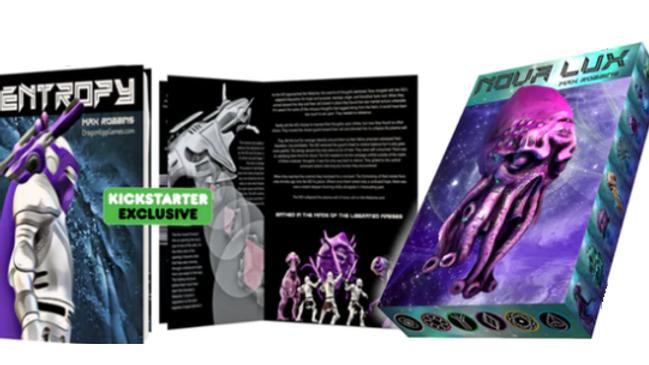 Nova Lux + graphic Novel