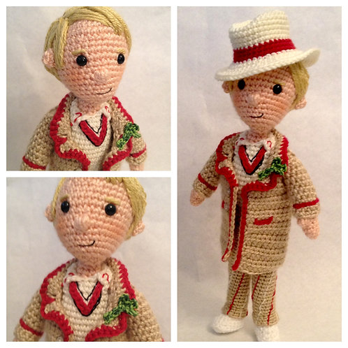 Fifth Doctor Who Pattern