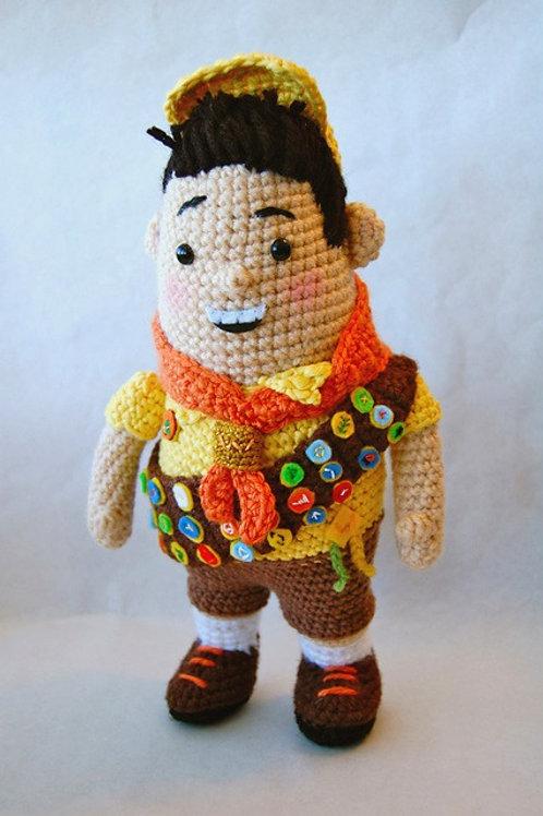 Russell Wilderness Scout Crochet Pattern
