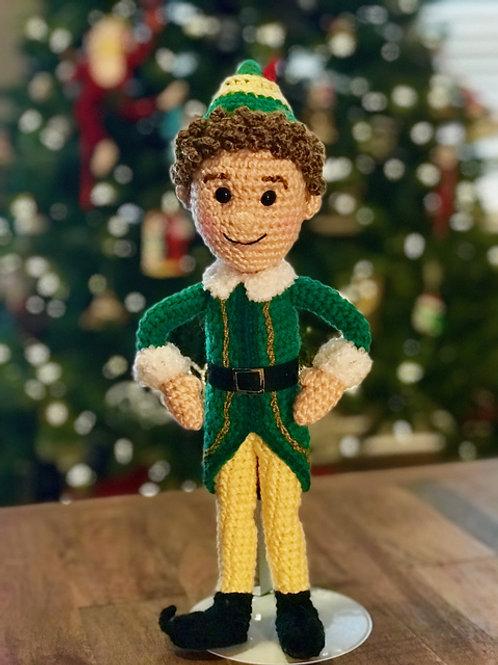 Buddy the Christmas Elf Amigurumi Pattern