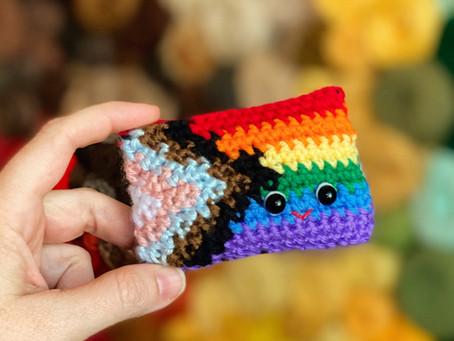 Happy Pride! Free Pride Amigurumi Pattern