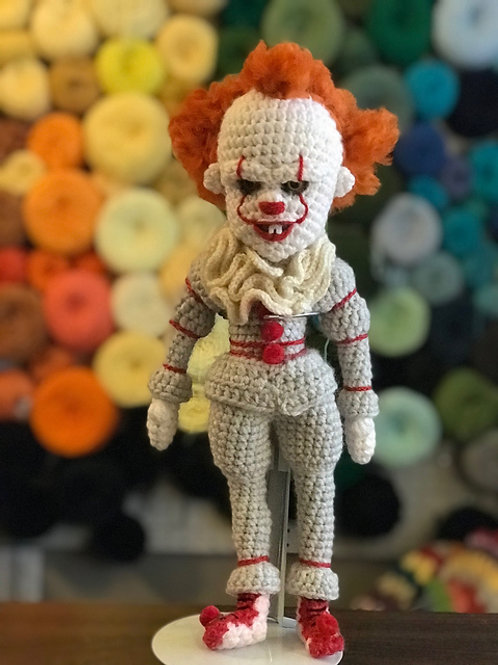 Pennywise It Clown Amigurumi Pattern