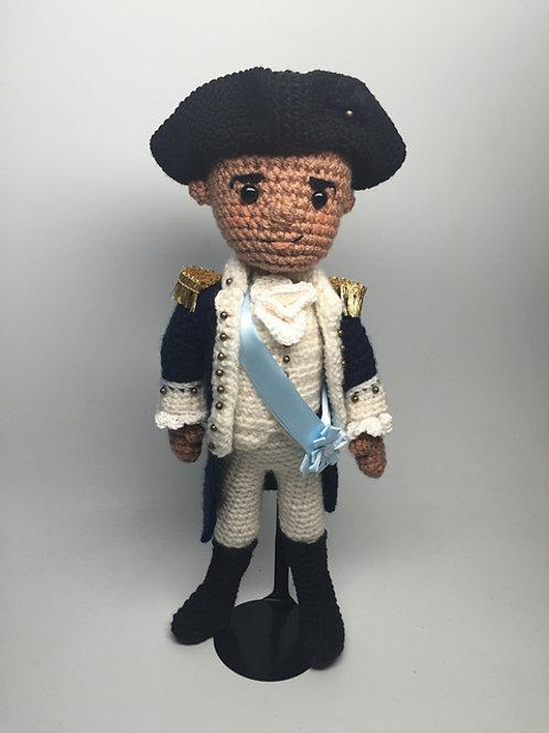 George Washington from Hamilton Pattern