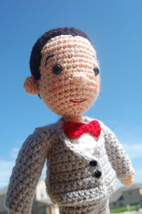 Pee-wee Herman Crochet Pattern