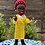 Thumbnail: Amanda Gorman inspired Amigurumi Doll Pattern