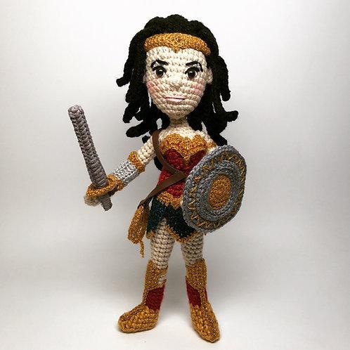 Wonder Woman Amigurumi Pattern
