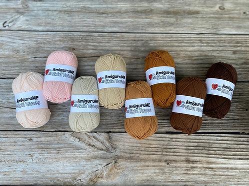 AmiguruMe Skin Tones Yarn Full Set