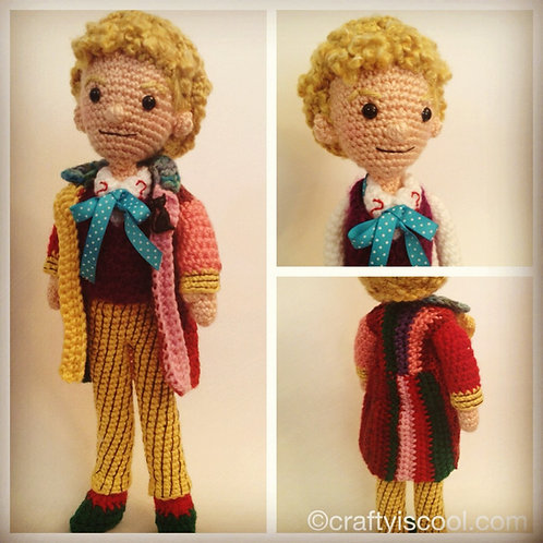 Sixth Doctor Who Pattern