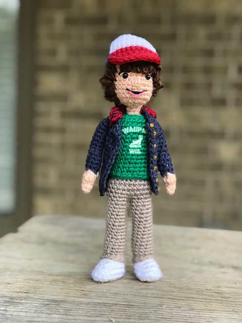 Dustin Stranger Things Amigurumi Pattern