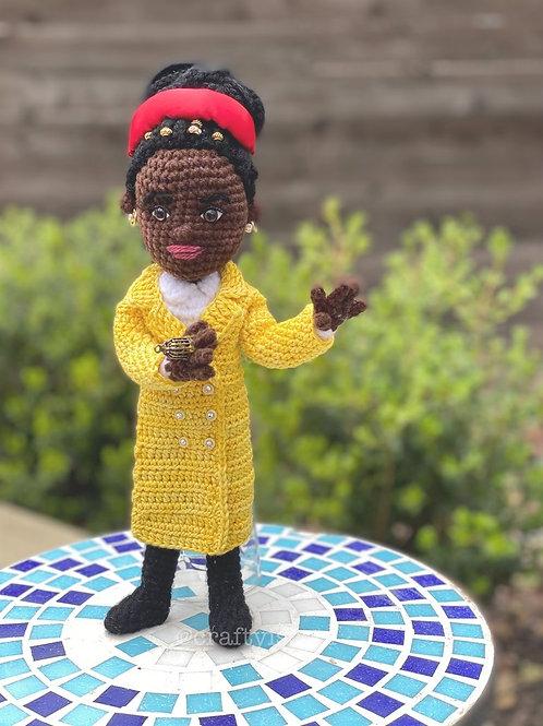 Amanda Gorman inspired Amigurumi Doll Pattern