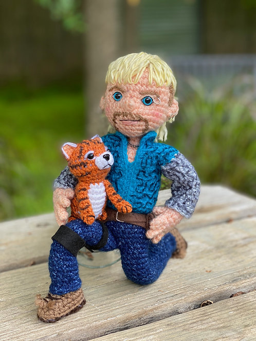 Tiger King Joe Exotic Crochet Pattern