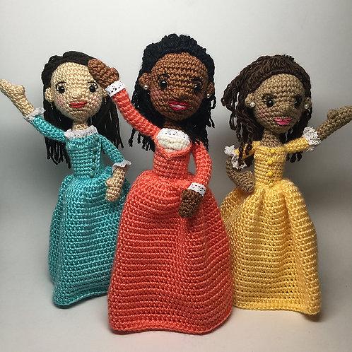 Schuyler Sisters Hamilton Crochet Patterns