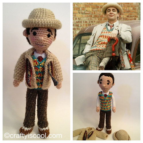 Seventh Doctor Who Pattern