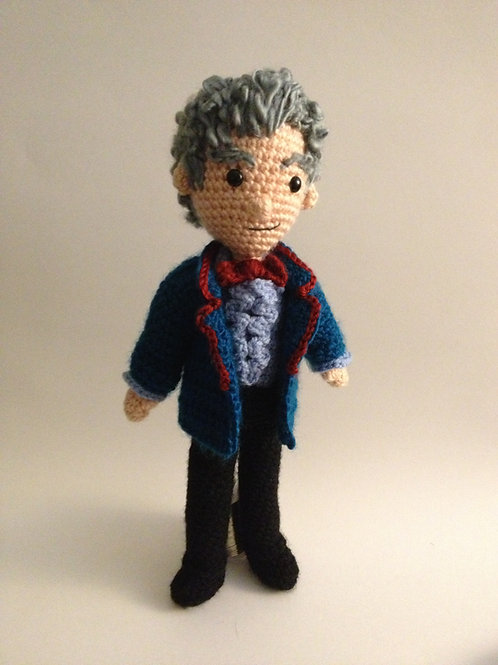 Third Doctor Who Pattern