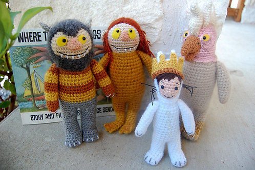 Where The Wild Things Are Pattern Set