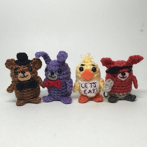 Five Nights at Freddy's Amigurumi Pattern Set