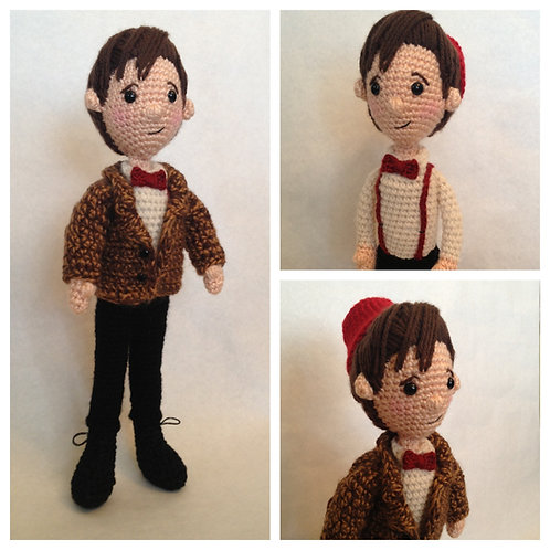 Eleventh Doctor Who Amigurumi Pattern