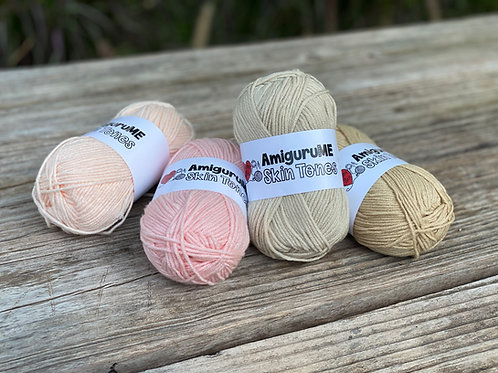 AmiguruMe Skin Tones Yarn Light/Medium