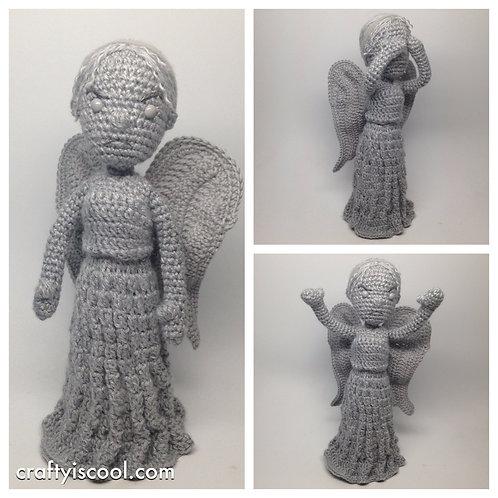 Weeping Angel Crochet Pattern