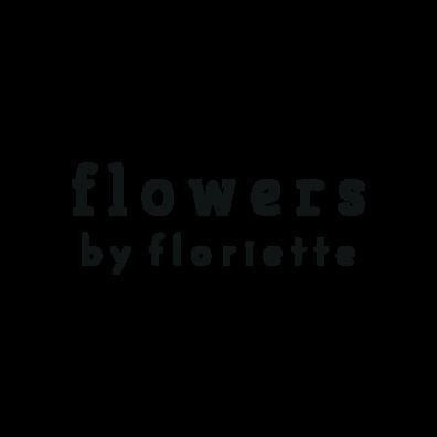 Logo flowers by floriette_logo Jesse_ ZW