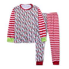Plus Size Christmas Printed Cotton Pajama-RM 93.88