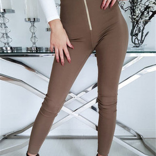RM93.51 - Slim Stretch Waist Pants
