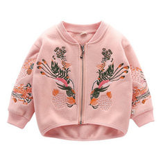 Girls Embroidered Jackets For 3Y-11Y-US$124.26