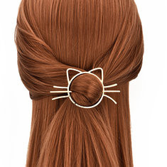 Sweet Hollow Cat Hairpin-US$5.99