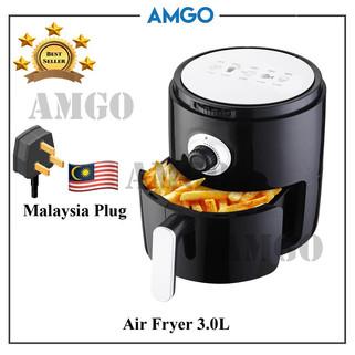 AMGO 3.0L High Capacity Air Fryer [Malaysia 3-Pin Plug] -RM154.88