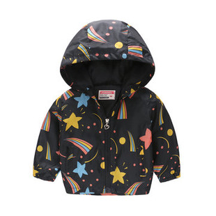 Girl Boys Hooded Jacket For 2Y-9Y -US$17.99