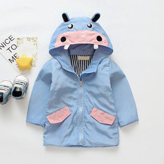 Animal Shape Kids Hooded Coats For 1-9Y-US$31.99