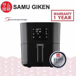 SAMU GIKEN Digital Air Fryer with Touch Control AFD-2540B-RM189.80