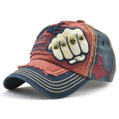 Men Denim Patch Baseball Cap-RM52.54
