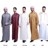 Men Arab Muslim Clothing Middle East Indian Mens Kaftan Robe RM67.82