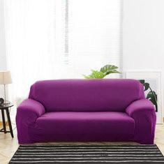 Washable Anti Mite Pure Color Fabric Sofa Protector-RM98.28 ~ 149.58