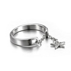 JASSY Sterling Silver Open Ring-US$18.80
