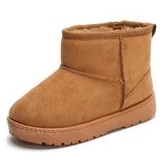 Boys Girls Suede Warm Snow Boots