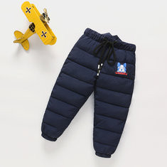Dog Print Girls Winter Pants For 2Y-11Y-US$25.99