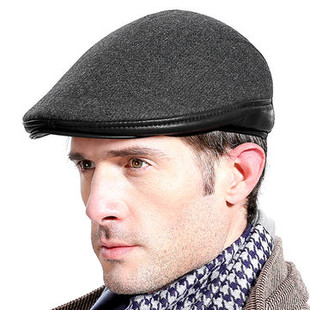 Men With Ear Flaps Windproof Beret Hat -RM63.56