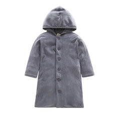 Fleece Boys Long Coats For 1Y-7Y-US$2