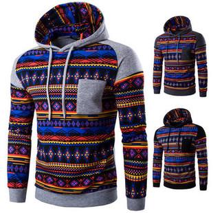 Christmas Thicken Fleece Printed Hoodies -US$21.27