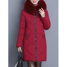 Fur Collar Down Coat-RM357.90
