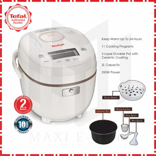 Tefal RK5001 Mini Fuzzy Logic Rice Cooker 0.5L-RM169.00