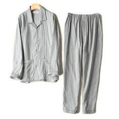 Loose Pajama Set with Pocket-US$33.60