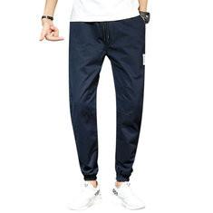 98%Cotton Stylish Logo Drawstring Pants-US$19.82