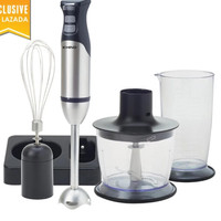 Khind Hand Blender Set BH600SS (Blender, Chopper, Whisk, Beaker) RM103.00