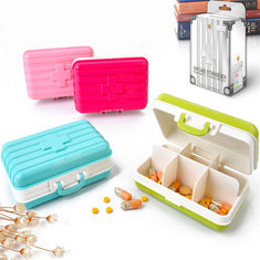 Travel Pill Box Jewel Organizer-US$3.99