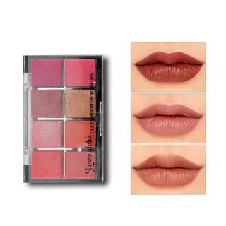 8 Colors Lipstick Palette -US$15.99